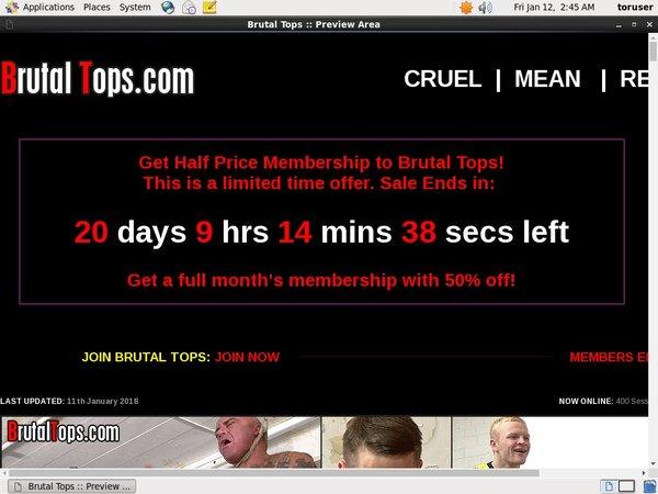 Brutal Tops Register