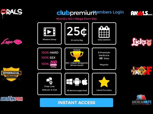 Club Premium Payment Options