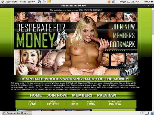 Desperate For Money Adult Passwords