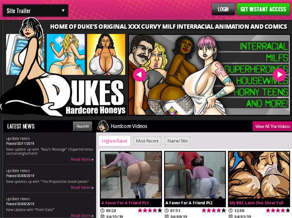 Dukeshardcorehoneys.com With Credit Card