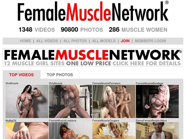 Femalemusclenetwork.com Automatische Kassen
