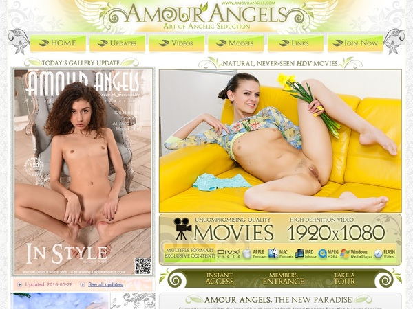 Free Login For Amour Angels