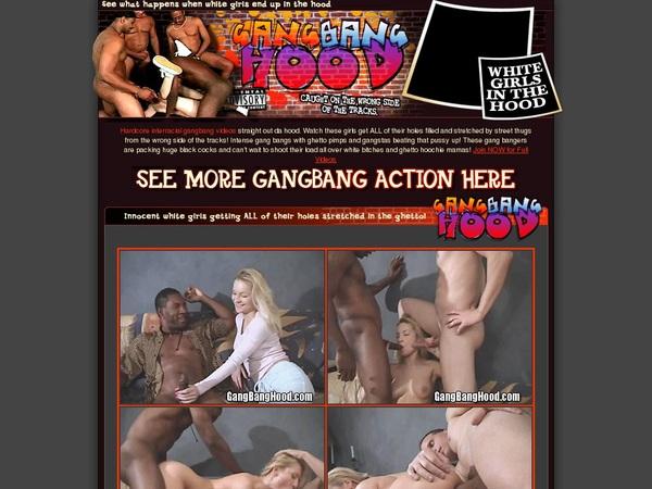 Gang Bang Hood パスワード