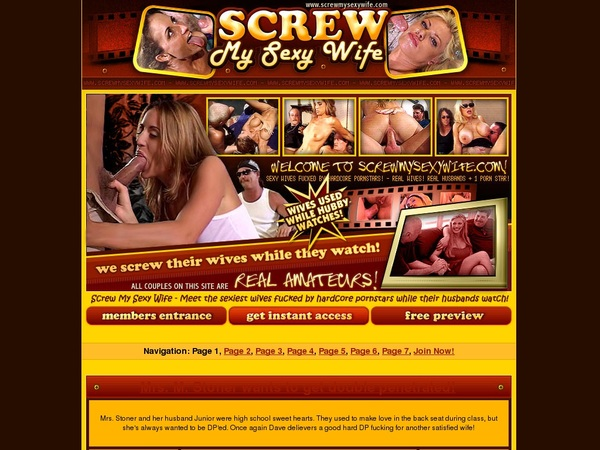 Is Screwmysexywife.com Real?