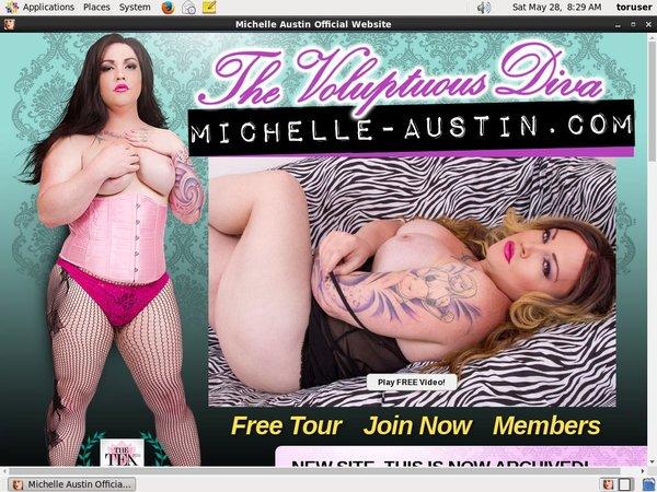 Michelle Austin With Maestro Card