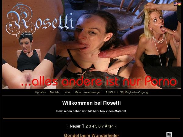 Rosetti.tv Yearly Membership