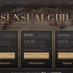 Sensual Girl With Australian Dollars
