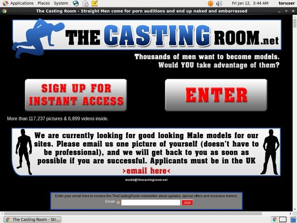 The Casting Room Promotion