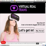 Virtual Real Trans Pussy