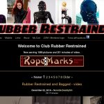 Club Rubber Restrained Without Paying