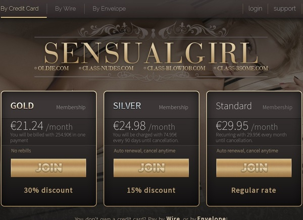 Sensualgirl Fresh Passwords