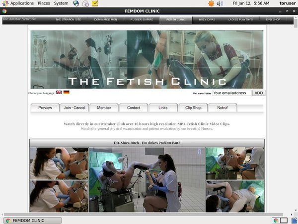 The Fetish Clinic Account For Free