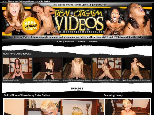 Realorgasmvideos.com Gratis Password