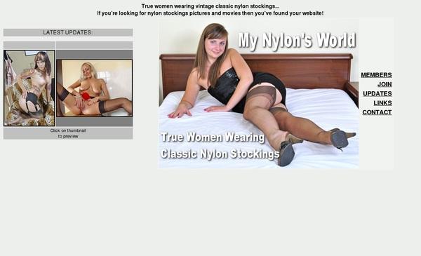 Mynylonsworld.com Login Generator