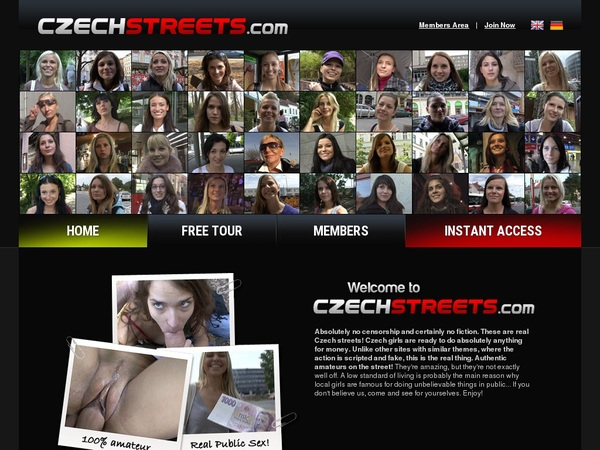 Czechstreets.com Clips4sale
