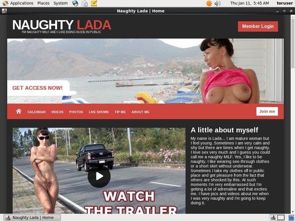Naughty Lada Using Paypal