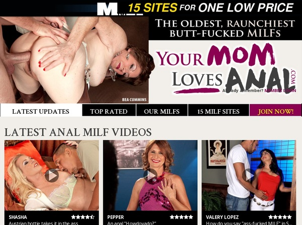 Your Mom Loves Anal Live